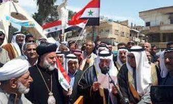 روسيا تخرج اول دفعة مقاتلين  من ابناء العشائرالعربية  شرقي سوريا
