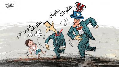 كاريكاتير للفنان السوري موفق قات 12 آذار 2021