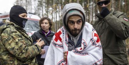 مهاجر لبناني عالق في غابة بين بيلاروسيا وبولندا