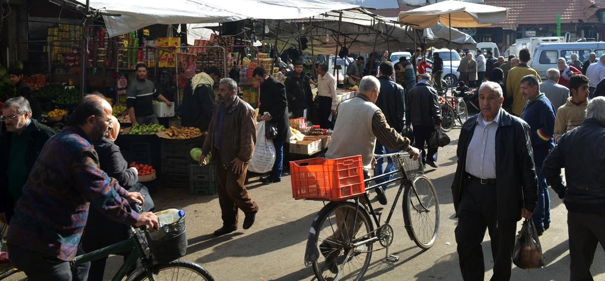 السوريون في السوق