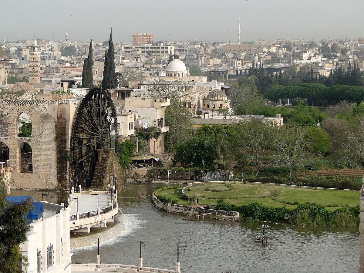 جانب من مدينة حماة (إنترنت)