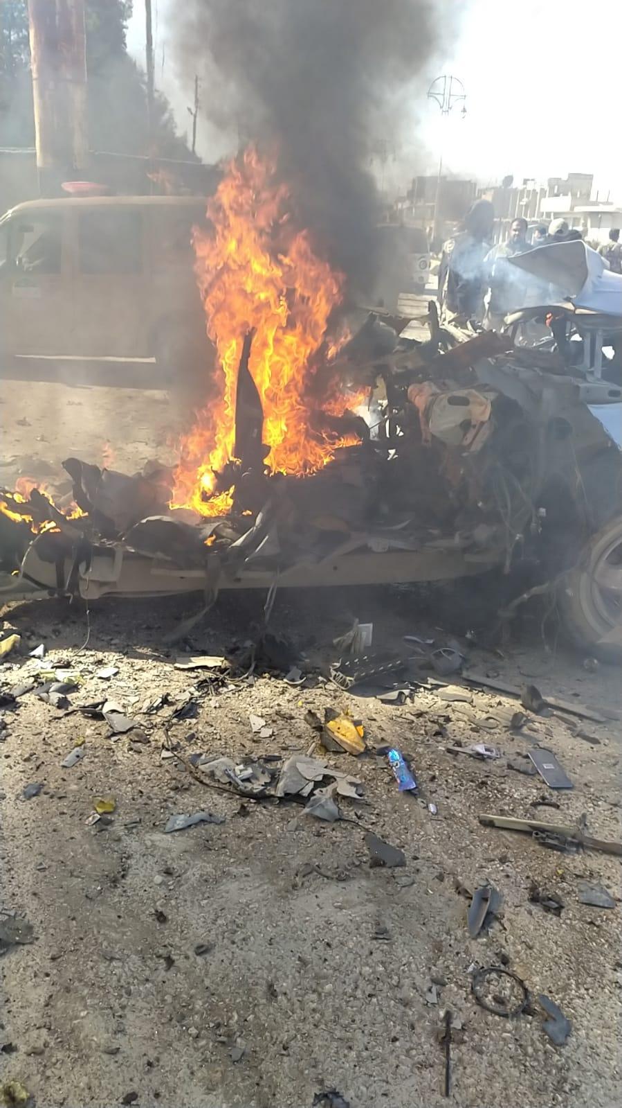 انفجار سيارة مفخخة في رأس العين
