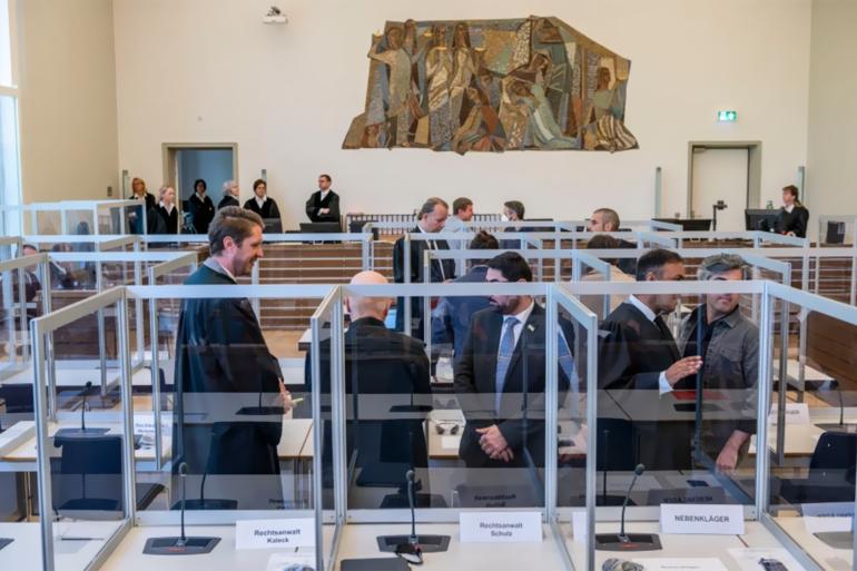 محكمة كوبلنز (AFP)