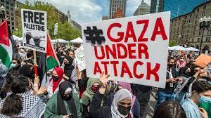 مظاهرات حاشدة في عدة مدن حول العالم تأييدا للفلسطينيين