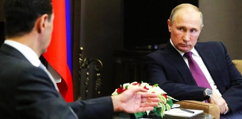 بوتين : سألت  الاميركيين عمن يحل مكان الاسد ؟