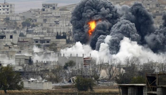 القصف الروسي المستمر على مناطق المعارضة السورية