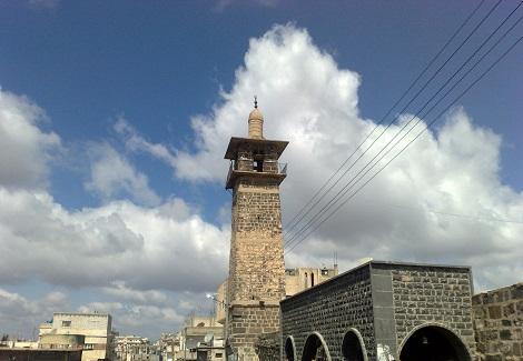 المسجد العمري في درعا(متداول)