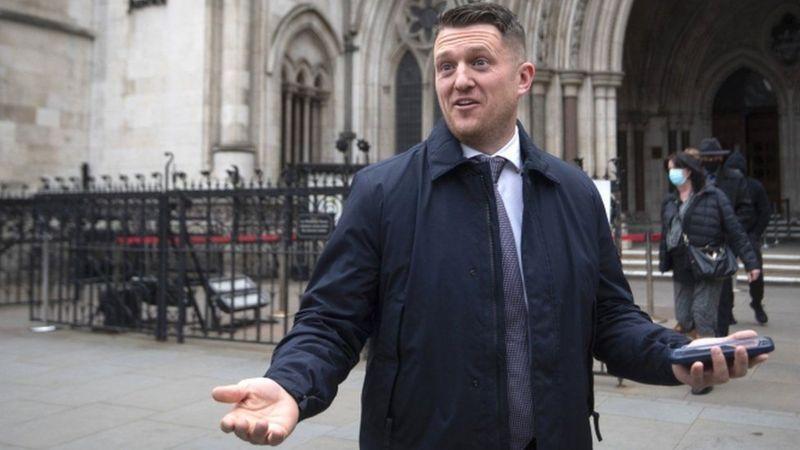 مثل ستيفن ياكسلي - لينون، المعروف باسم تومي روبنسون، نفسه أمام المحكمة