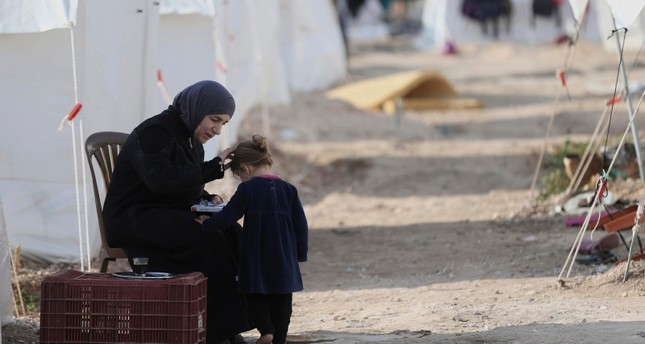 طفلة لاجئة سورية