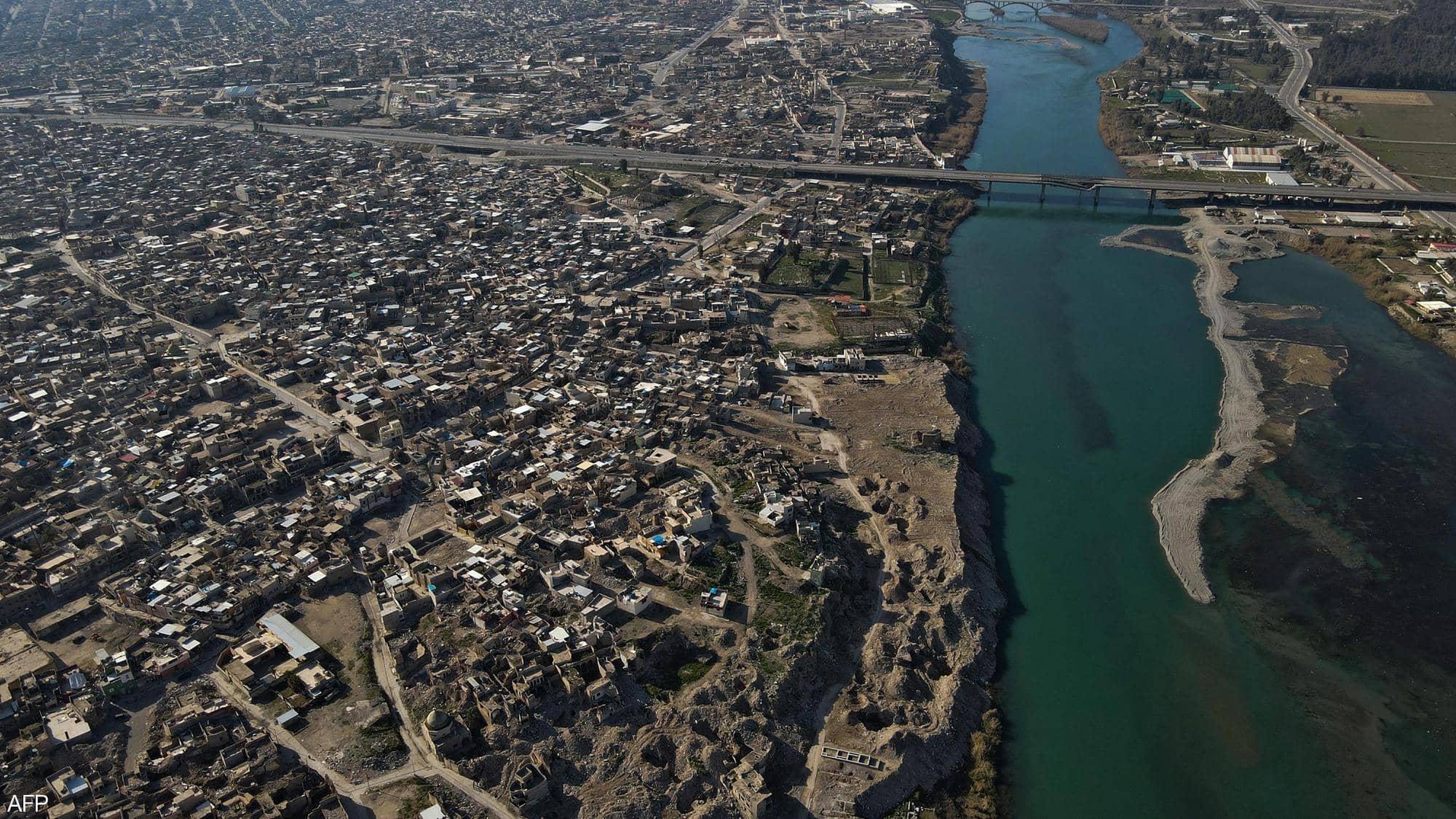 ايران وتركيا تساهمات في تناقص المياهالنهرية  بشكل ملحوظ سيؤدي الى كارثة
