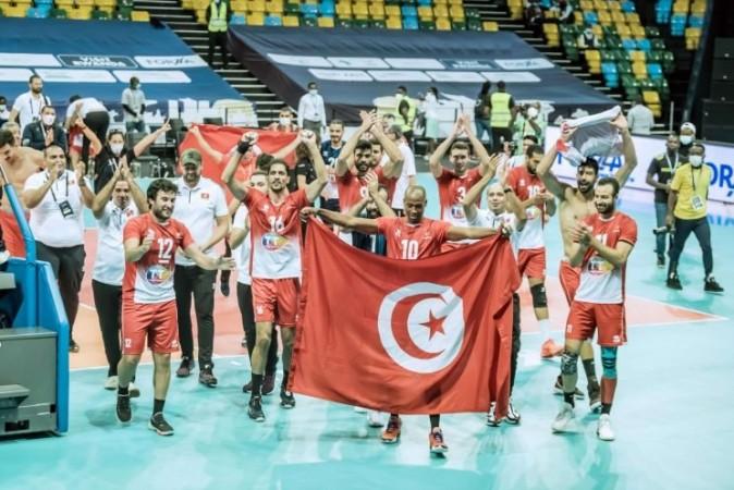 تونس تهزم الكاميرون وتحرز اللقب 11 في بطولة أمم افريقيا لكرة الطائرة