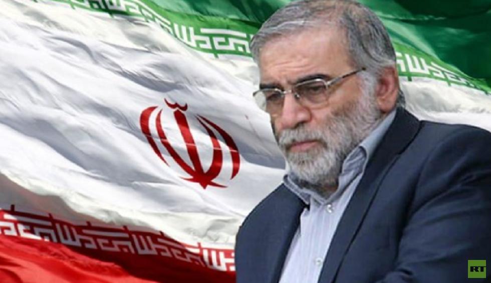 العالم النووي الايراني محسن فخري زادة
