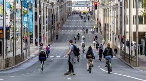 يوم بدون سيارات في بروكسل
