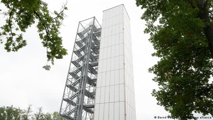 صورة المبنى الشاهق في شتوتغارت الذي له قدرة على التكيف مع المناح والمكون من اثني عشر طابقاً!_DW